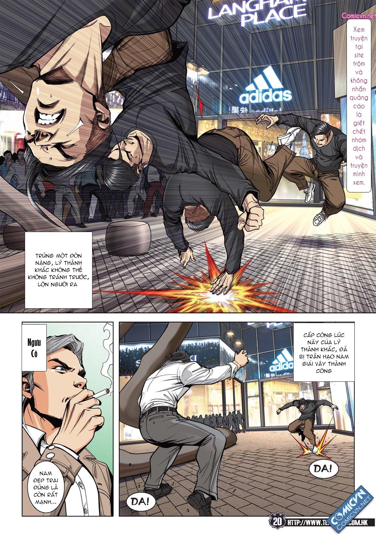 Người Trong Giang Hồ chapter 2093: nó là tay trong trang 19