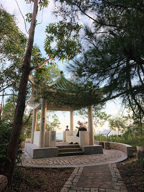 青衣自然徑1號觀景亭