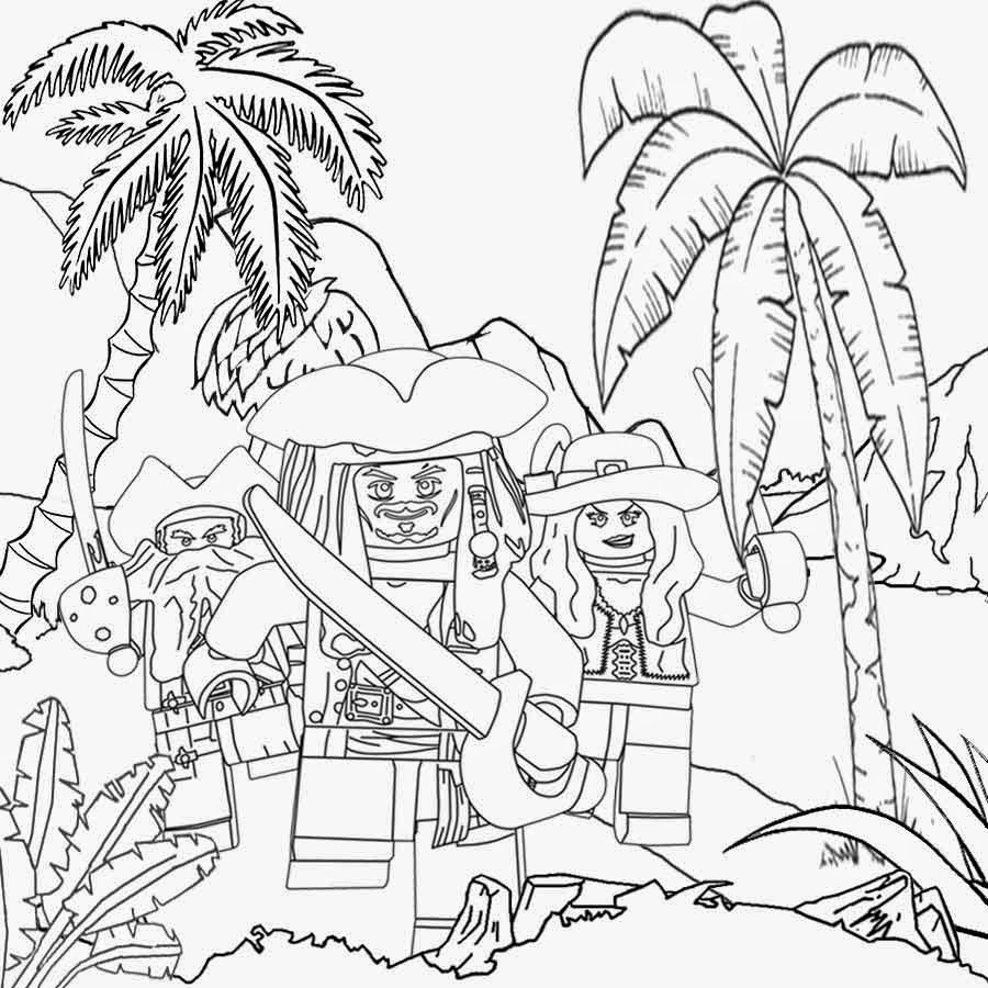 It's just an image of Légend pirates of the caribbean coloring page