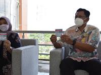 Bupati  dan Wakil Bupati Sleman, Disuntik Vaksin COVID-19