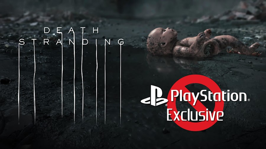 death stranding ps4 exclusive delisting pc release kojima productions sony interactive entertainment