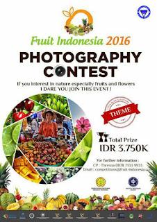 Lomba Fotografi dari Fruit Indonesia 2016