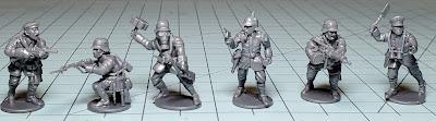 Wargames Atlantic Great War German Infantry - Intial Review