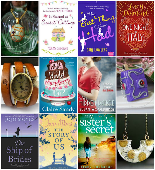 1st Birthday Giveaway 4: Win 3 Necklaces, a Watch & 8 Books