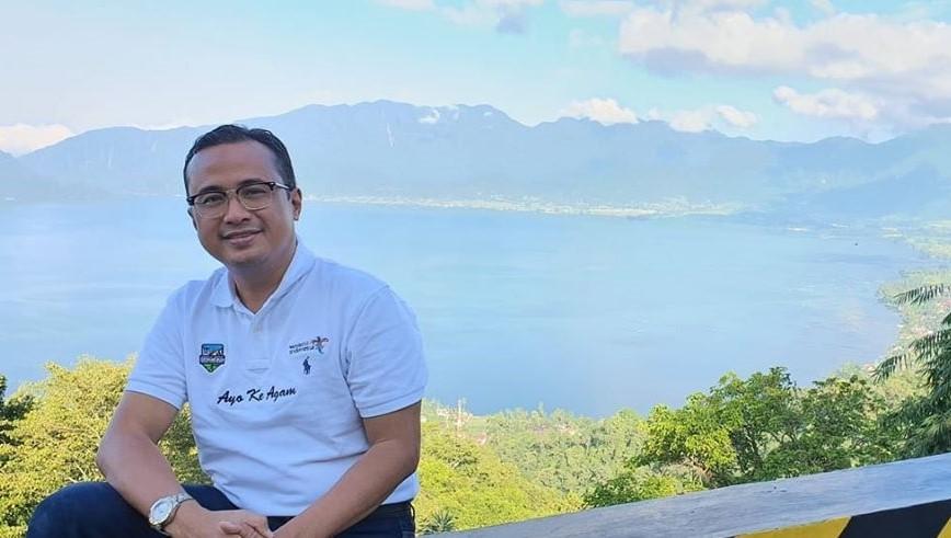 Kepala Bidang Pemasaran Dinas Pariwisata Provinsi Sumatera Barat Hendri Agung Idris