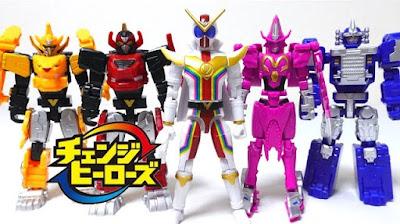 Change Heroes Series Kikai Sentai Zenkaiger