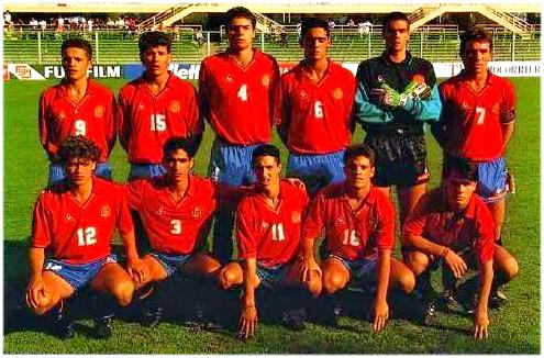 Resultado de imagen de ghana campeona del mundo sub 17 ante España en italia 1991