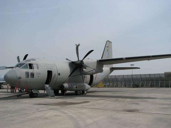 Προκύρηξη FOS για τα C-27J Spartan της ΠΑ.