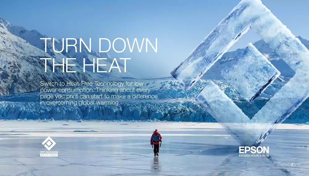Epson Turn Down the Heat Campaign