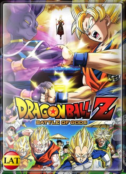 Dragon Ball Z: La Batalla de los Dioses (2013) DVDRIP LATINO