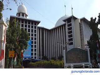 Masjid Istiqlal  Adalah Masjid Terbesar di Indonesia