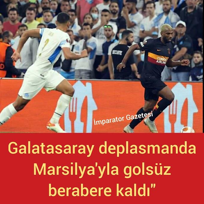Galatasaray 0 Marsilya 0