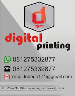 info kontak dyno printing
