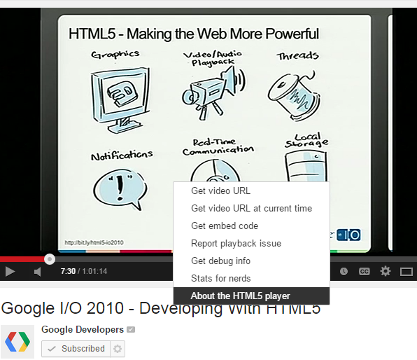 Google All Your: HTML5