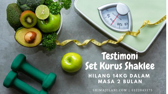 Testimoni Set Kurus Shaklee : Hilang 14kg Dalam Masa 2 Bulan