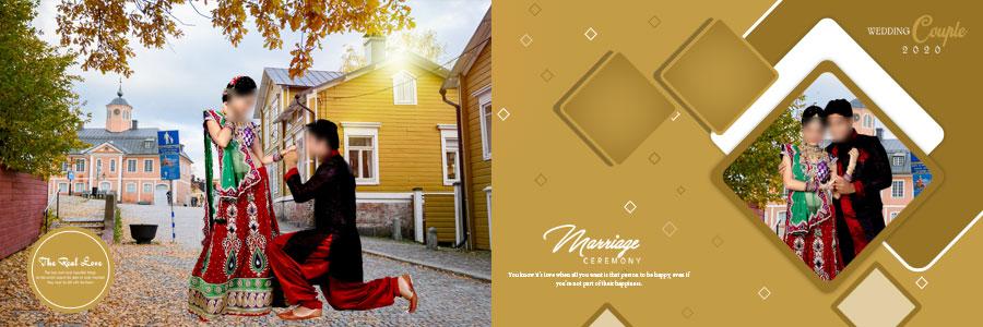 Wedding Album 12x36 PSD DM Designs