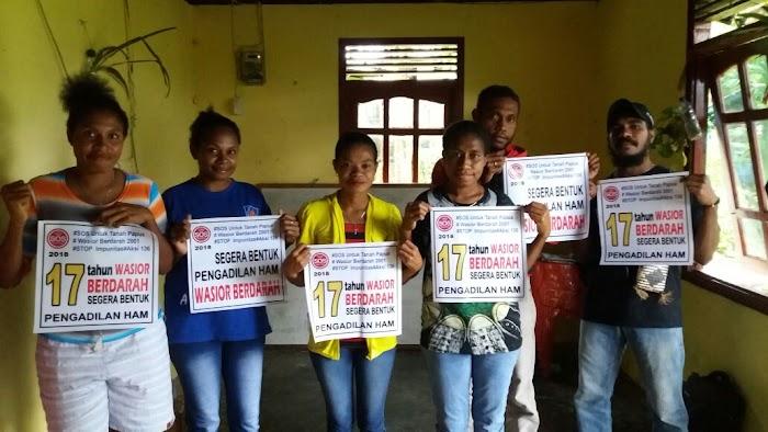 Foto dari Fakfak, Solidaritas untuk Wasior Berdarah, Segera Bentuk Pengadilan HAM