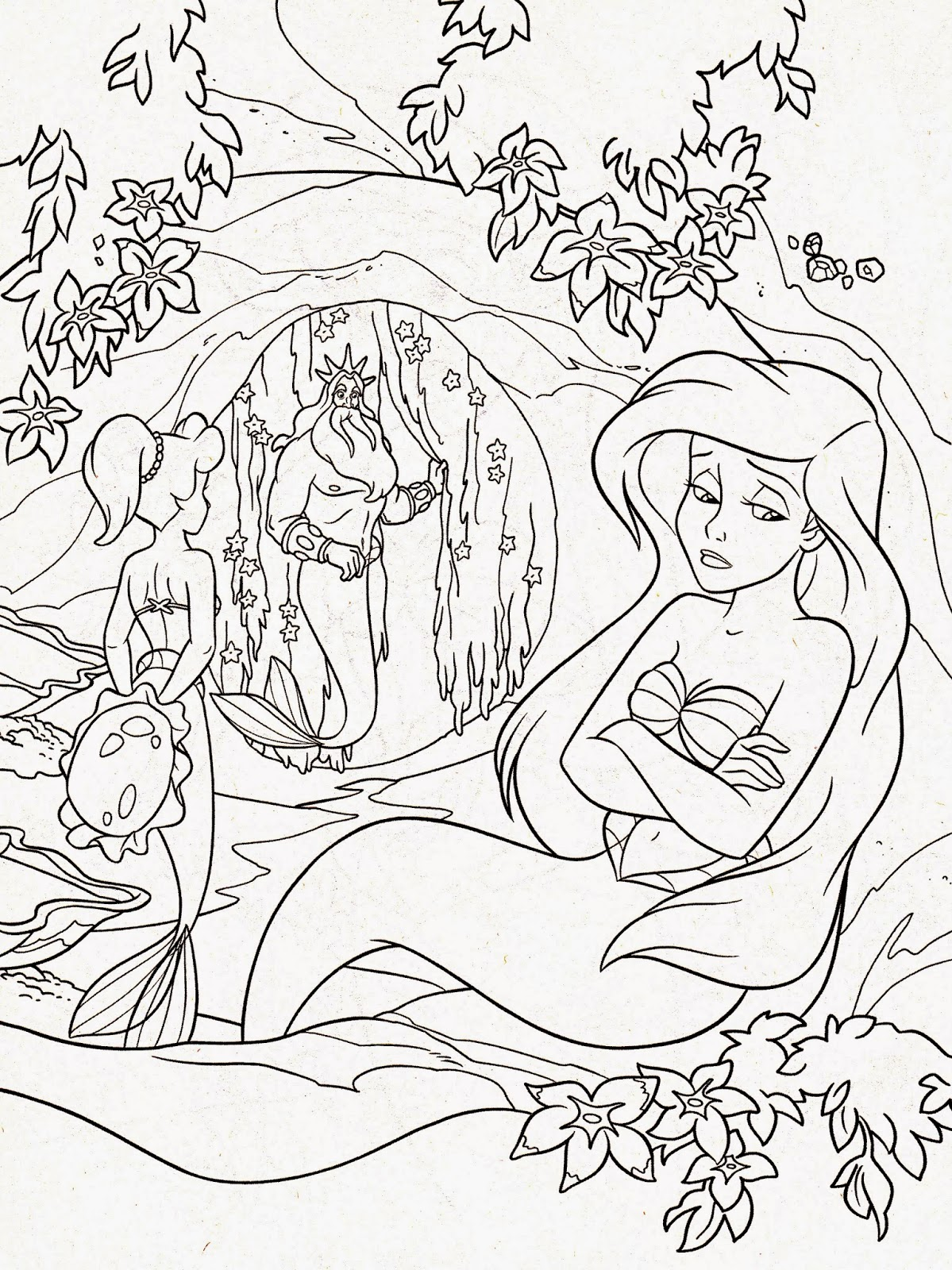 Coloring Pages: Disney Coloring Pages Free and Printable   colouring pages for adults disney