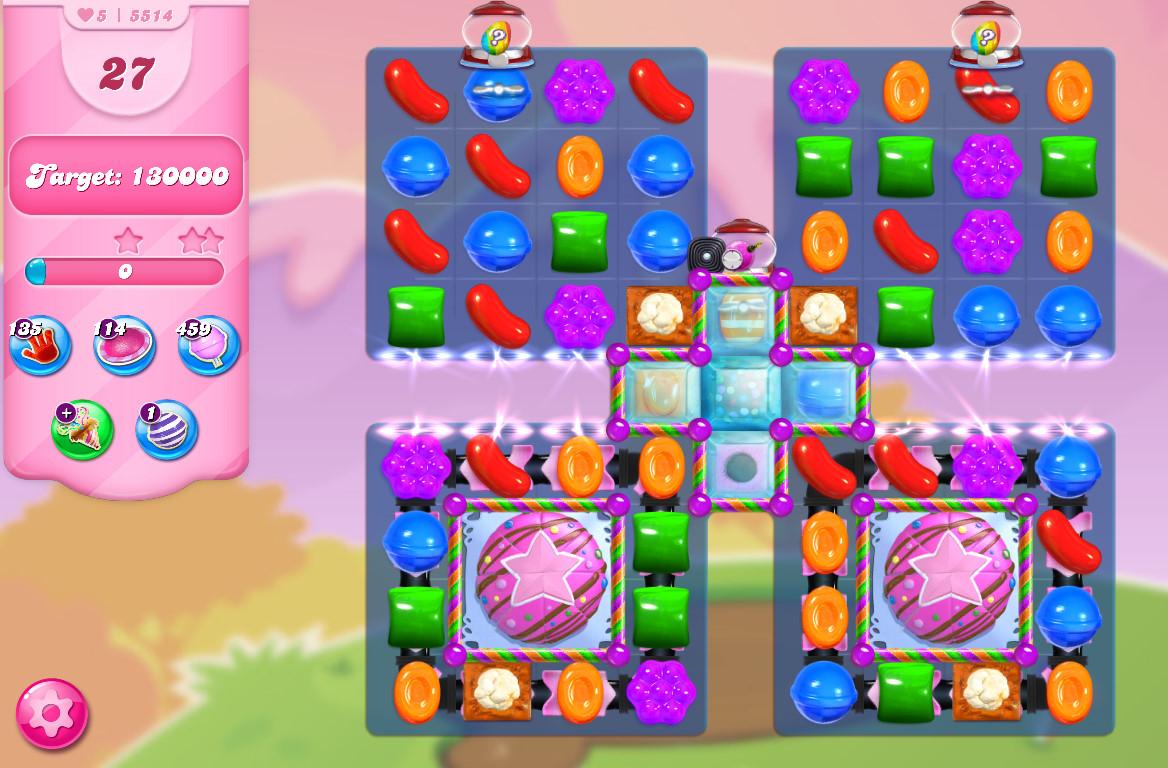 Candy Crush Saga level 5514
