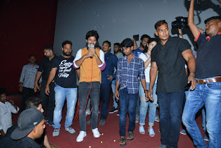 Taxiwala Movie Team at Arjun Theatre Kukatpally Photos