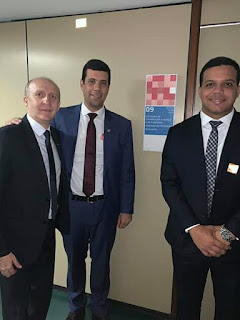 Presidente da (AMA) participa do encontro nacional   em Brasília.