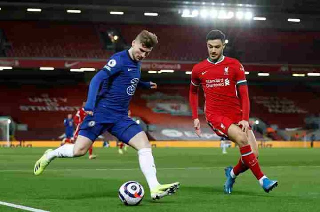 Liverpool Vs Chelsea (0-1).  Crucial win for Chelsea to secure their Top four