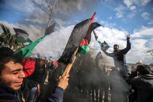 """Israel reprime protestas palestinas contra """"Acuerdo del Siglo"""""""