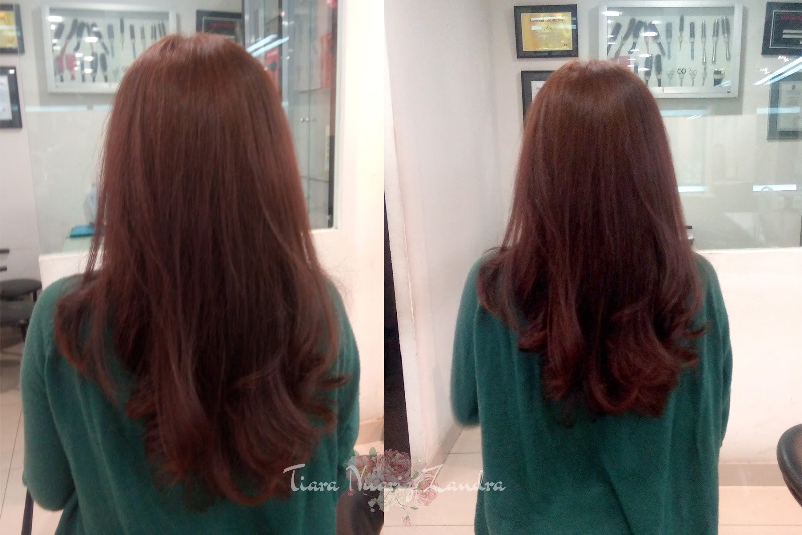 HAIR COLORING AT JOHNNY ANDREAN SCHOOL   TRAINING - BEHIND THE SCENE ... 4a69761762
