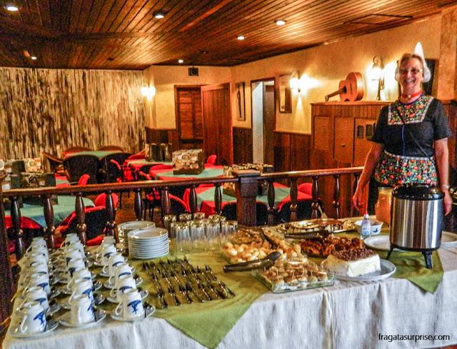 Tortas holandesas da confeitaria Kroeg De Molen, na Colônia Castrolanda, Paraná