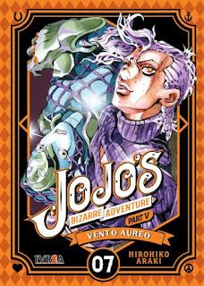 Reseña de JoJo's Bizarre Adventure Part V: Vento Aureo, de Hirohiko Araki, tomos 4 al 7 - Ivréa