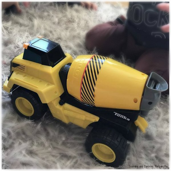 Tonka Trucks Cement Mixer