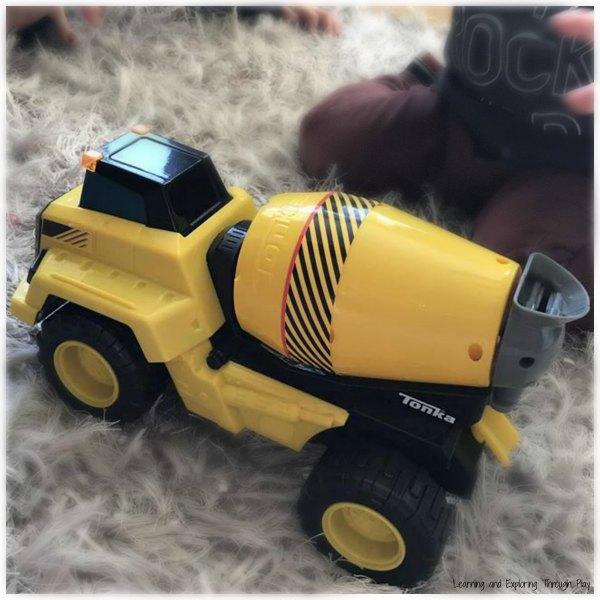 Tonka Trucks Cement Mixer