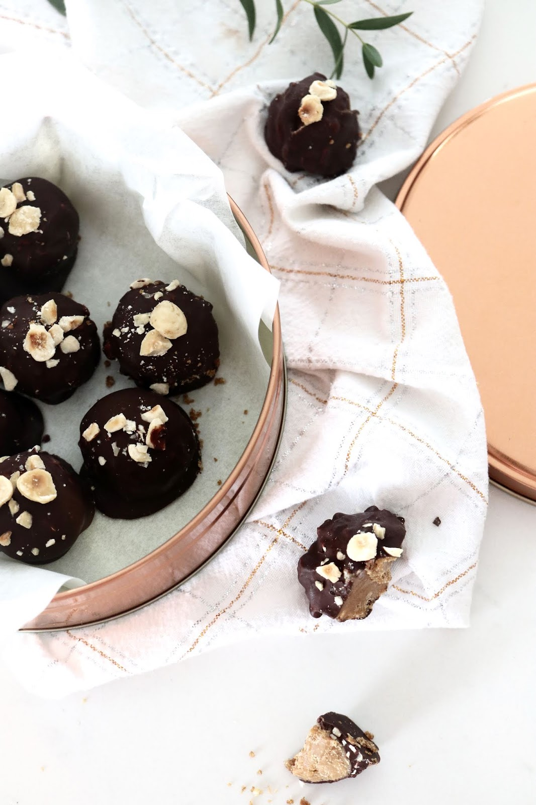 natural peanut butter balls