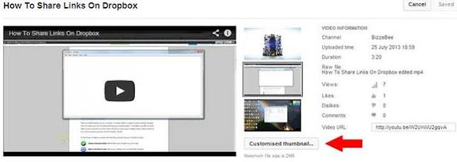 Cara Mengganti Thumbnail Youtube
