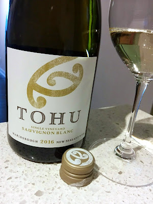Tohu Single Vineyard Sauvignon Blanc 2016 (89 pts)