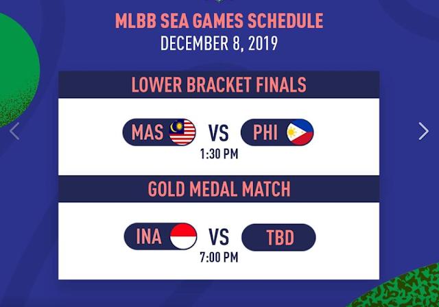 Jadwal Final Golden Medal Timnas Mobile Legends Indonesia Sea Games 2019