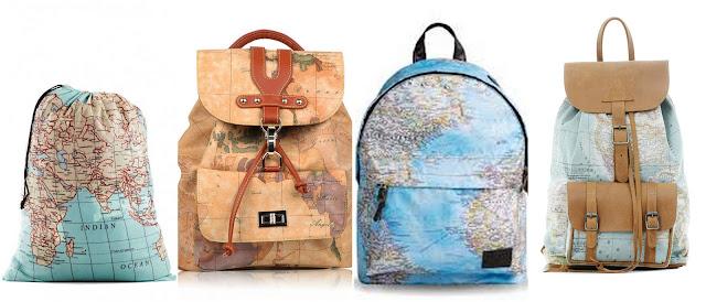 Что подарить путешественнику? идеи подарков для любителя путешествий рюкзак с картой мира