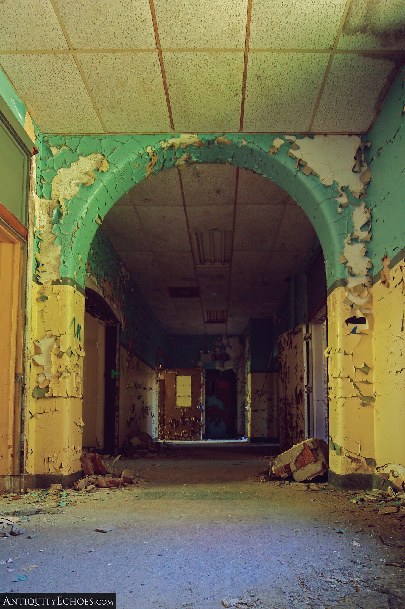 Overbrook Asylum - Peeling Arches
