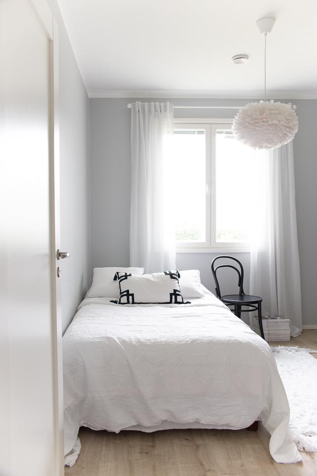 Villa H, vierashuone, skandinaavinen sisustus, ton-tuoli