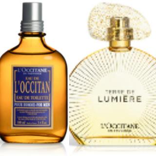 L'Occitane Eau de Toilette Terre de Lumière Eau de Parfume Gold Edition