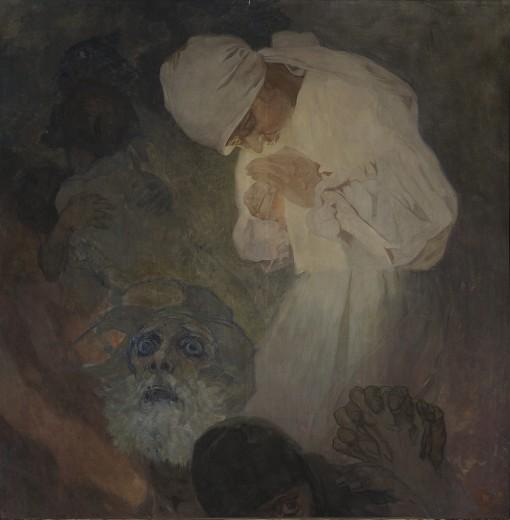 Альфонс Муха - Свет надежды. 1933