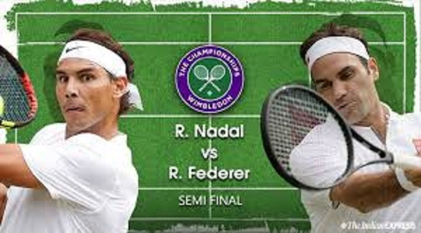 Roger Federer Looks for a ninth Wimbledon Title After Beating Rafael Nadal