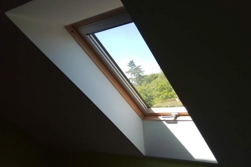 okno dachowe na poddaszu użytkowym, okno połaciowe