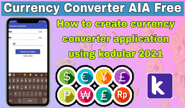 How to create currency converter app ?