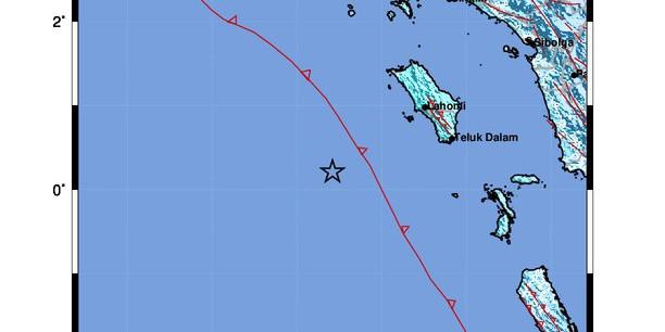 Gempa 6,4 M Guncang Nias Barat, Tak Berpotensi Tsunami
