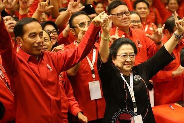 Jokowi Belum Membahas Isu Bergabungnya Gerindra Ke Pemerintah Dengan Partai Pengusung