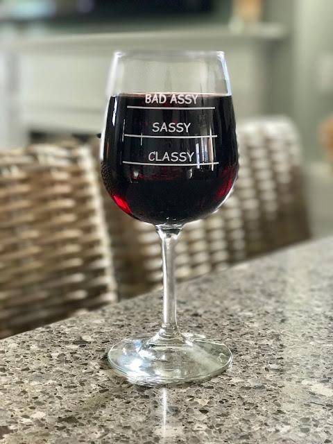 DuVino wine glass