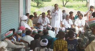 भाजपा छोड कांग्रेस की सदस्यता गृहण की