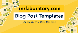 Post template । Top 10 blogger tips and tricks । Blogger tutorial  - mr laboratory