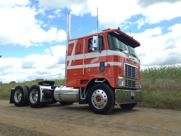 1991 International 9670 Cabover Truck Auto Restorationice
